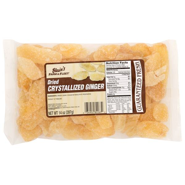 Dried Crystalized Ginger