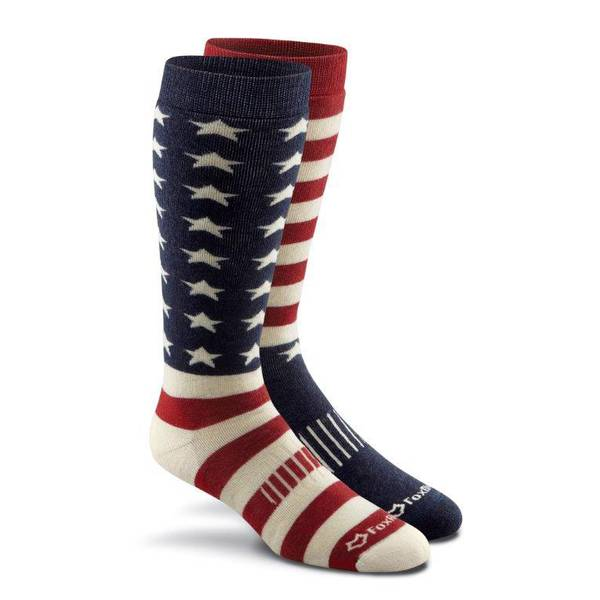 Women's Old Glory Merino Wool Boot Sock