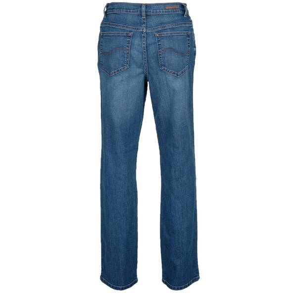 c66b4285 Lee Women's Meridian Relaxed Fit Straight Leg Jeans