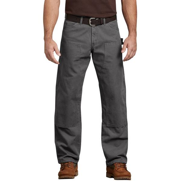 cf2aacf5de7ef5 Dickies Men's Relaxed Fit Double Front Duck Work Pants