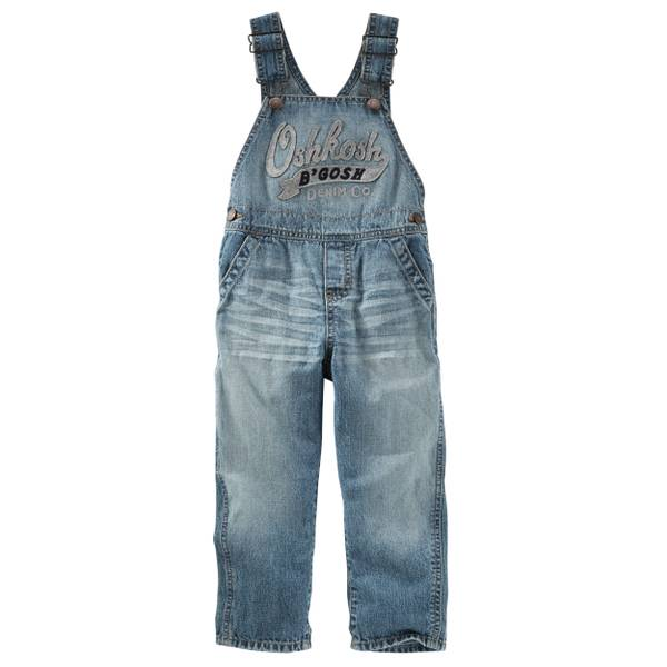 Baby Boys' Heritage Logo Overalls