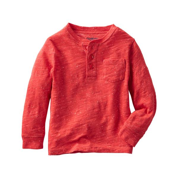 Toddler Boys'  Nep Yarn Henley
