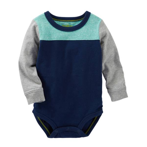 Baby Boys' Colorblock Bodysuit