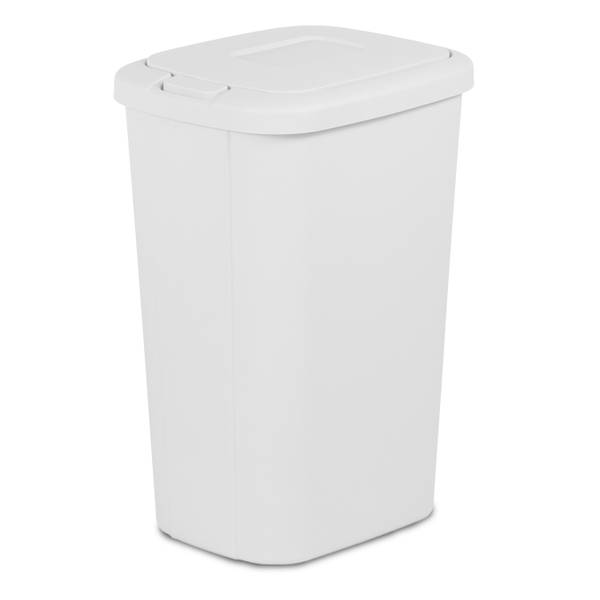 Touch Lid Wastebasket