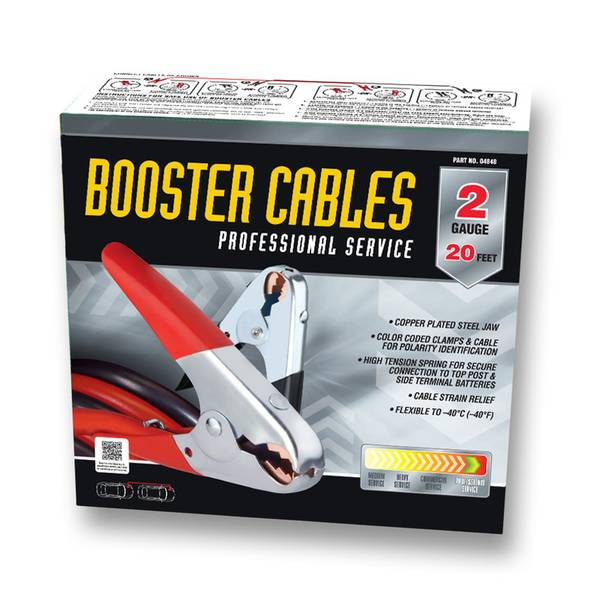 2 Gauge Booster Cable