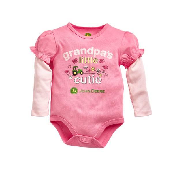 Baby Girls' Grandpa's Little Cutie Bodysuit