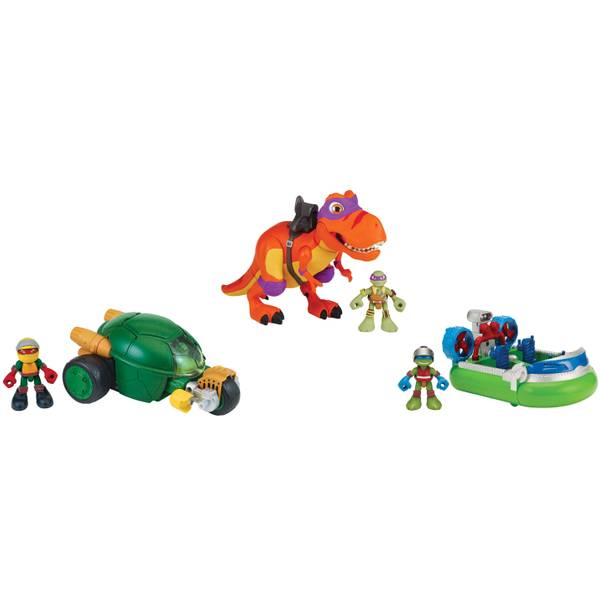 Teenage Mutant Ninja Turtles Half Shell Heroes Figure and Vehicle Assortment