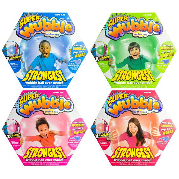 Super Wubble Bubble Ball Assortment