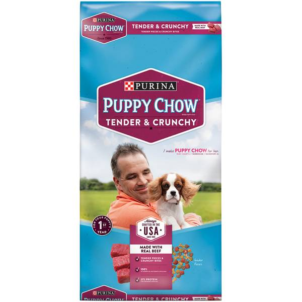 """Puppy Chow"" Healthy Morsels Pup Food"