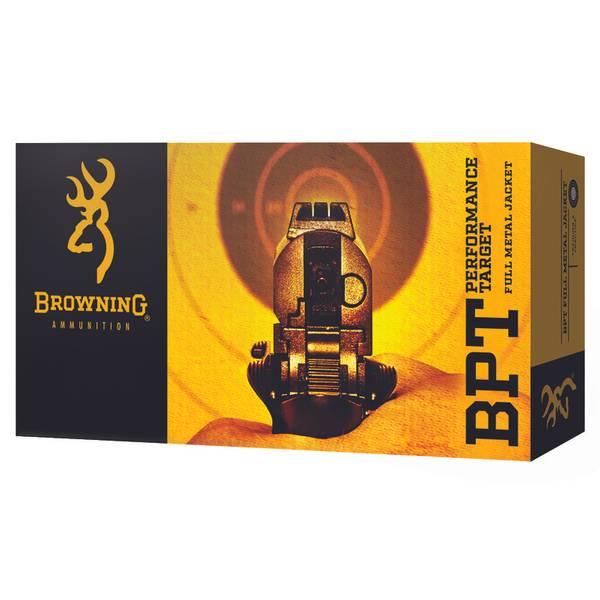 BPT Performance 9mm Target Pistol Ammunition