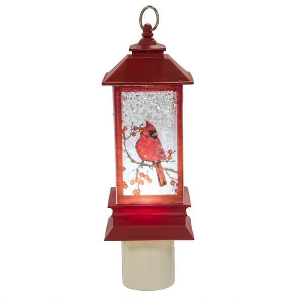 Cardinal LED Shimmer Lantern Night Light