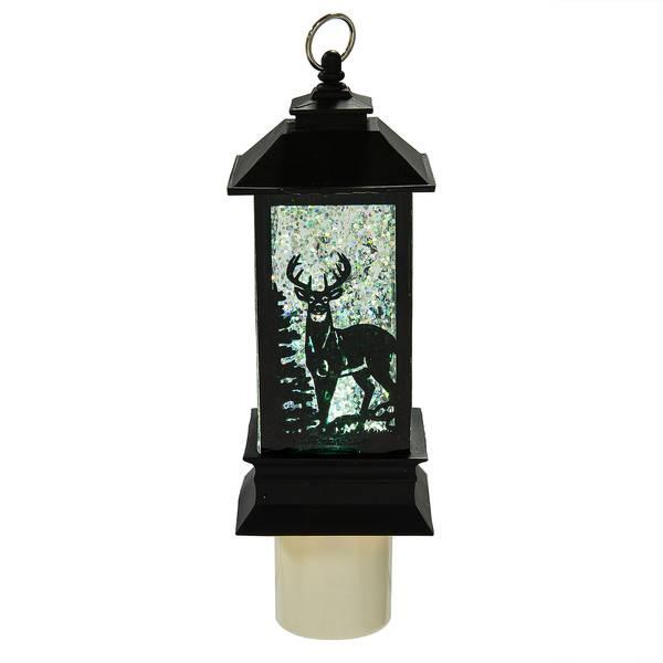 Midwest Cbk Deer Led Shimmer Lantern Night Light