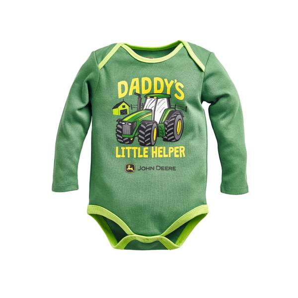 Baby Boys' Daddy's Little Helper Bodysuit