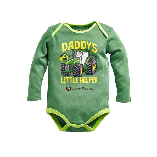 Baby Boys' Daddy's Little Helper Bodysuit