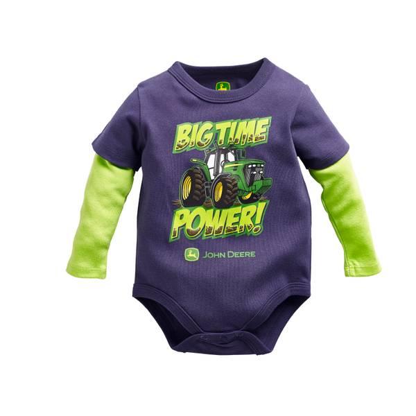 Baby Boys' Big Time Power Bodysuit