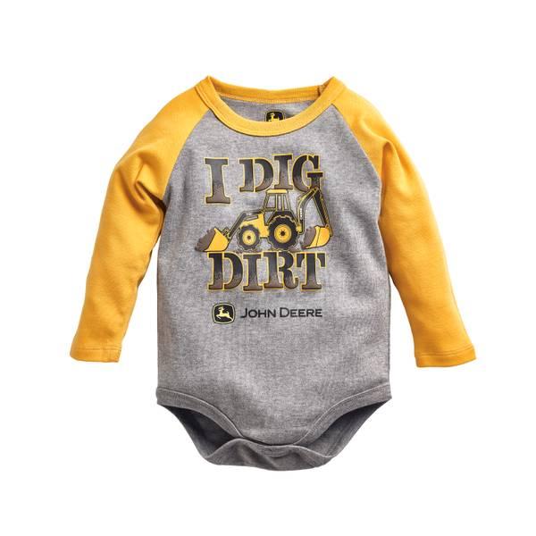 Baby Boys' I Dig Dirt Bodysuit