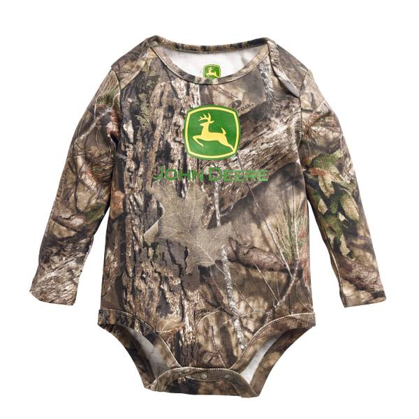 Baby Boys' Long Sleeve Mossy Oak Bodysuit