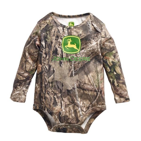 Baby Boys' Long Sleeve Mossy Oak Bodysuit