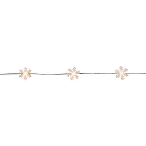 LED Invisilite Snowflake Light Set
