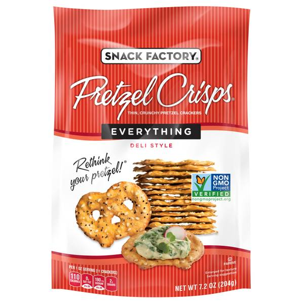 Everything Pretzel Crisps