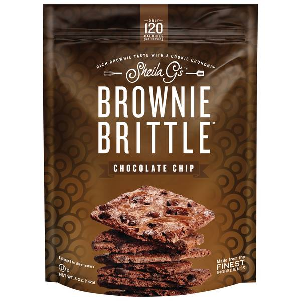 Chocolate Chip Brownie Brittle