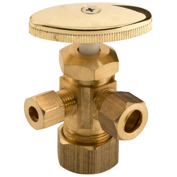 "5/8""FIP Low Lead 3-Way Angle Valve"