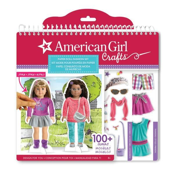 Paper Doll Fashion Stylist Set
