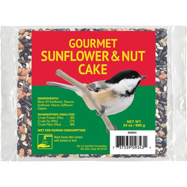 Gourmet Sunflower & Nut Large Cake