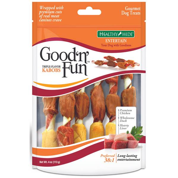 Good 'n' Fun Triple-Flavor Chews