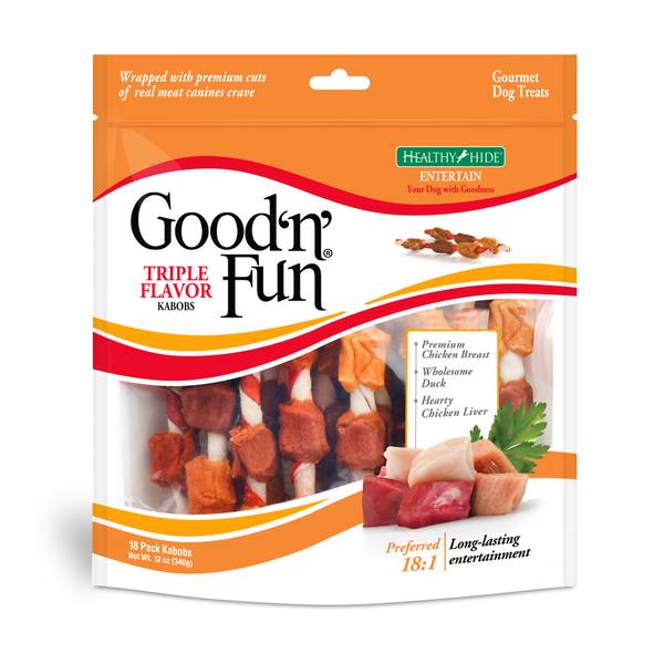 Good 'n' Fun Triple-Flavor Kabobs