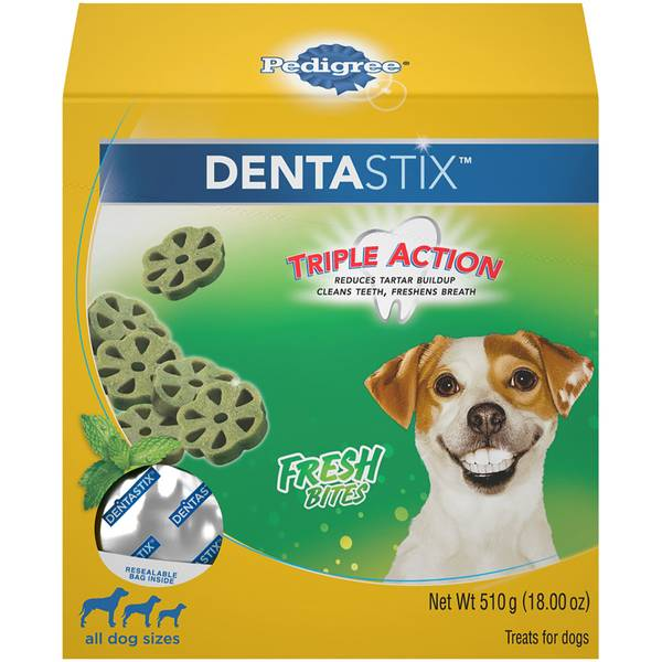 Dentastix Triple Action Fresh Bites Dog Treat