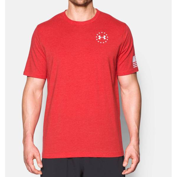Men's Freedom Flag Tactical T-Shirt