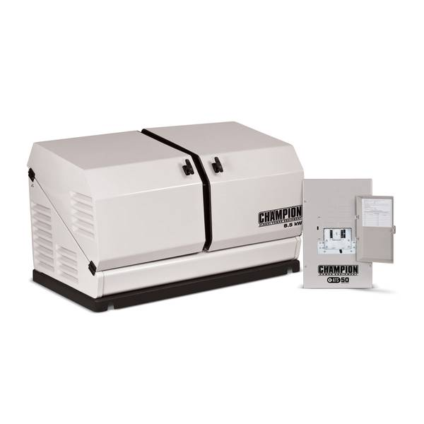 8.5 kW Home Standby Generator with ATS50 Indoor Rated Automatic Transfer Switch