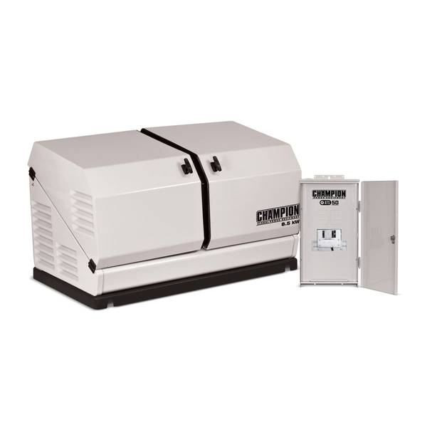 Home Standby Generator System - 8.5 kW Home Standby Generator and ATS50