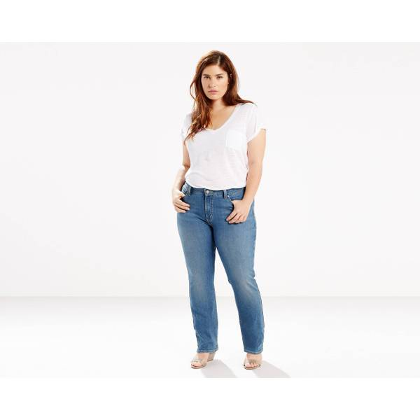 Women's 414 Relaxed-Fit Straight Jeans