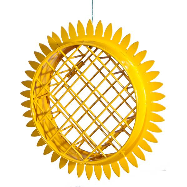 Woodlink Sunflower Hanging Suet Cake Bird Feeder (985578 2587) photo