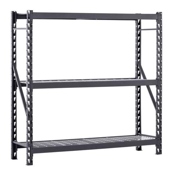 Edsal Welded 3 Shelf Storage Rack