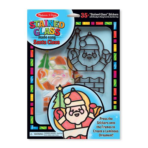 Santa Claus Stained Glass Made Easy