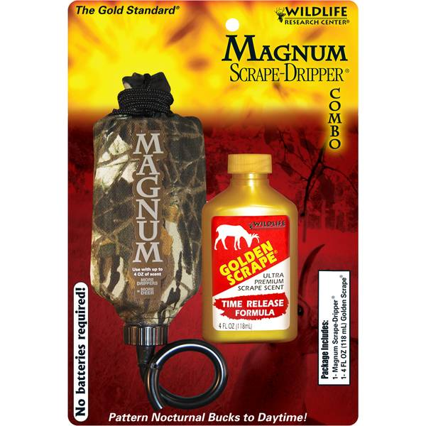 Wildlife Research Center Magnum Scrape-Dripper Combo