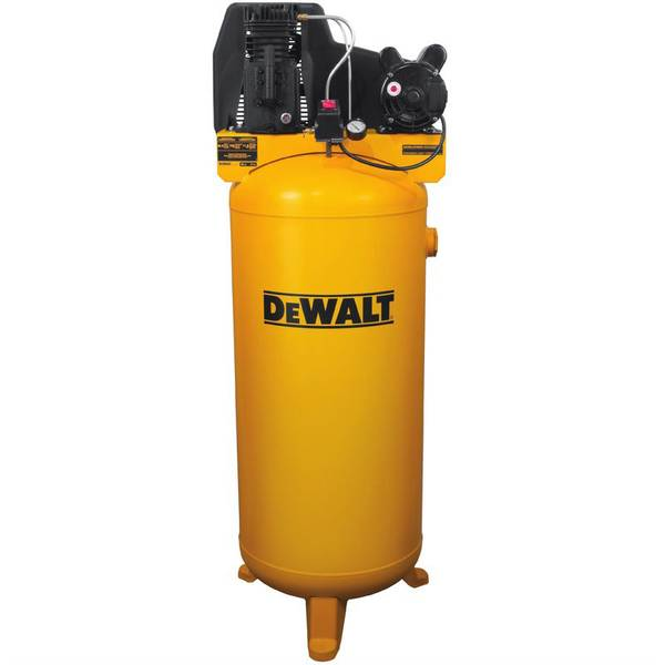 60 Gallon Cast Iron Oil Lubricated Belt Drive Air Compressor