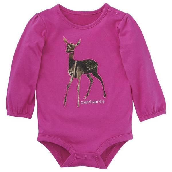 Baby Girls' Deer Bodysuit