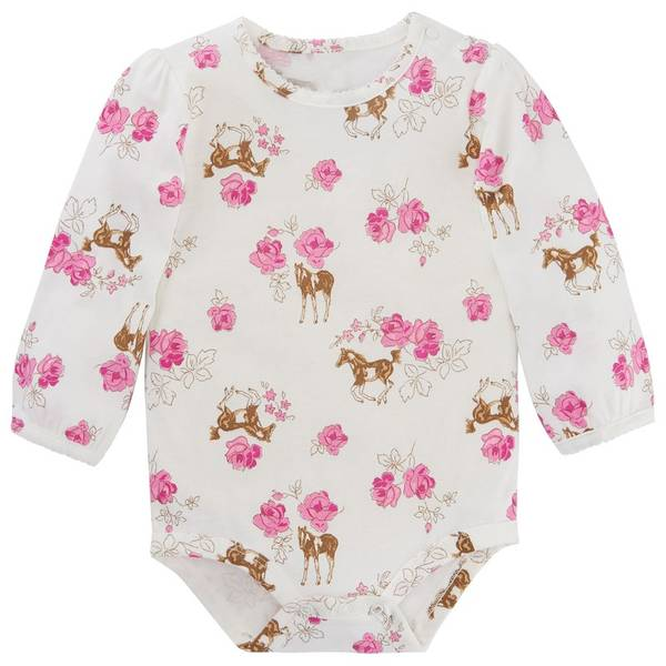 Baby Girls' Race For the Roses Bodysuit