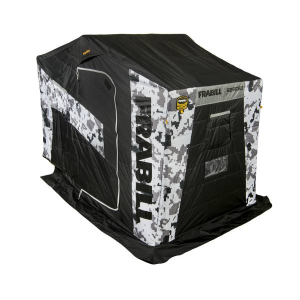 Frabill bro series 2 person insulated ice shelter for Ice fishing house parts