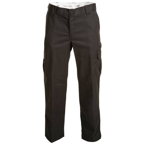 Men's Black Flex Twill Cargo Work Pants
