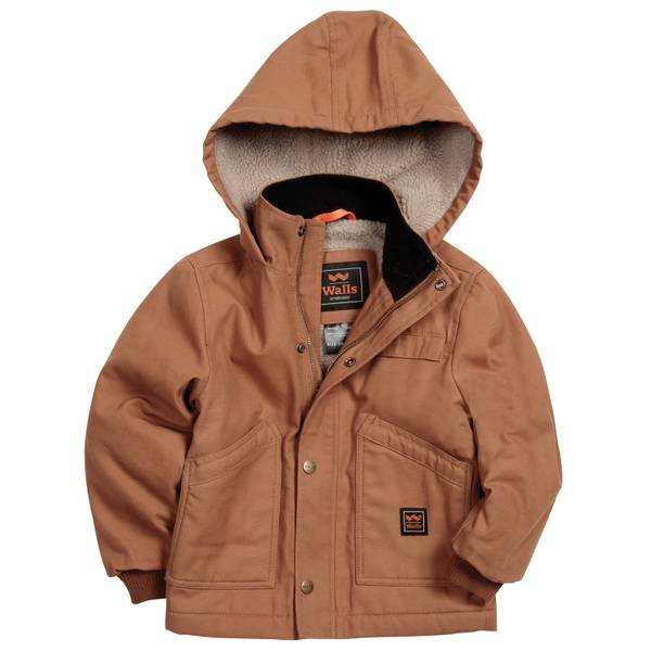 Boys' Hooded Duck Jacket