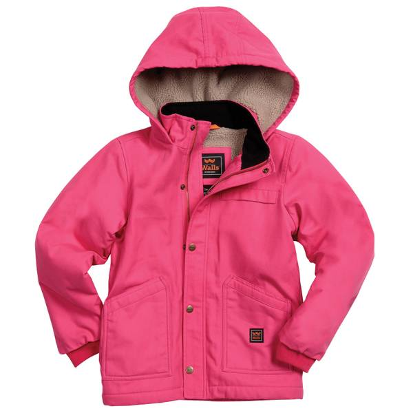 Girls' Hooded Duck Jacket