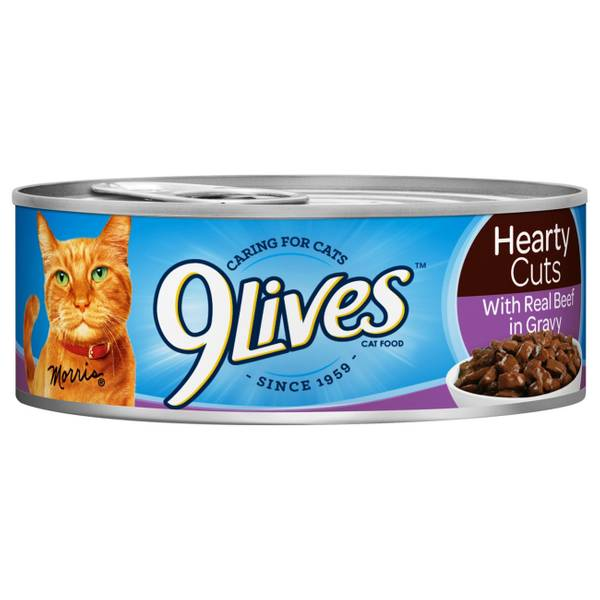 Hearty Cuts with Real Beef in Gravy Cat Food