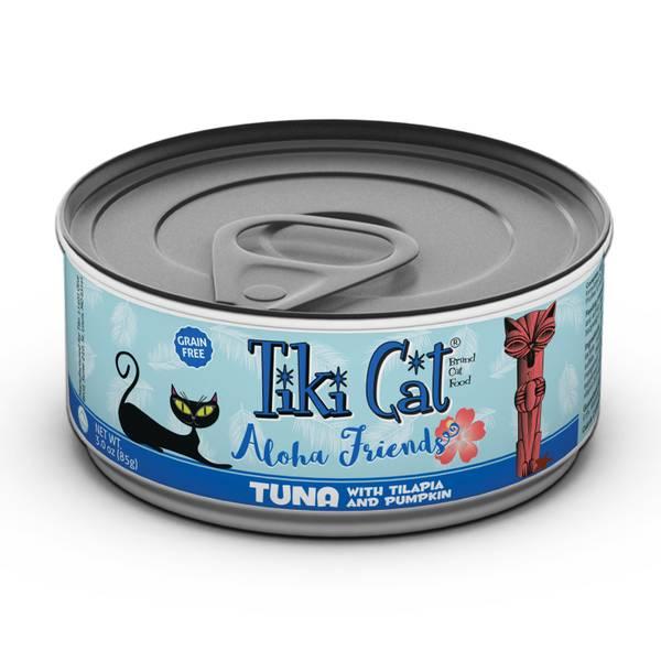 Aloha Friends Tuna with Tilapia & Pumpkin Cat Food