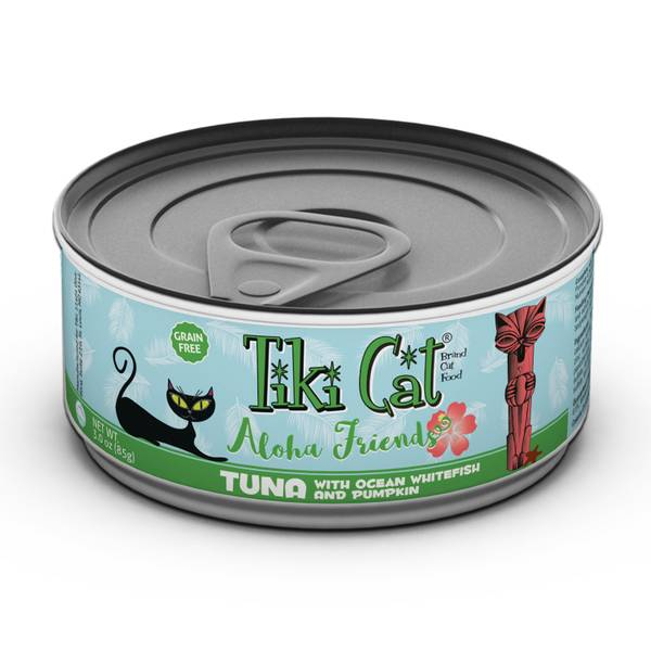 Aloha Friends Tuna with Whitefish & Pumpkin Cat Food
