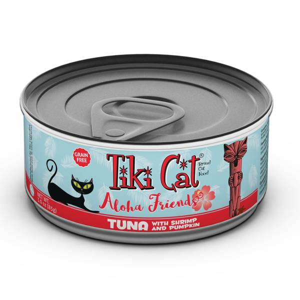 Aloha Friends Tuna with Shrimp & Pumpkin Cat Food